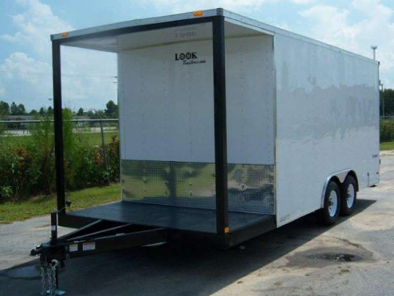 Enclosed Vendor Trailer