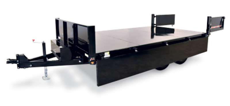 Sure-Trac HD Deckover (with Fold-Down Sides)